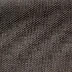 Bruine groot linnen effect verduisterende stof