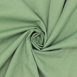 Washed cotton - rosemary green