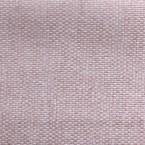 Roze groot linnen effect verduisterende stof