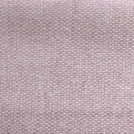 Tissu opacifiant effet gros lin uni rose