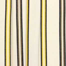 Striped upholstery fabric