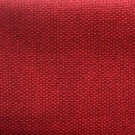 Rode groot linnen effect opacifierende stof