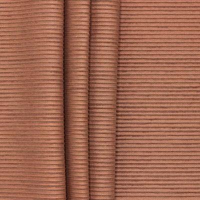 Tissu jacquard souple à rayures fil chenille