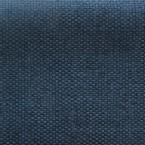 Tissu opacifiant effet gros lin uni bleu