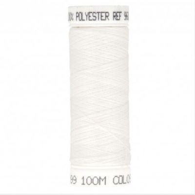 fil à coudre blanc 100m