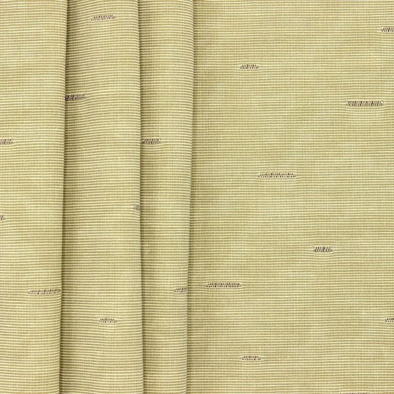 Thin jacquard fabric with moiré wrong side