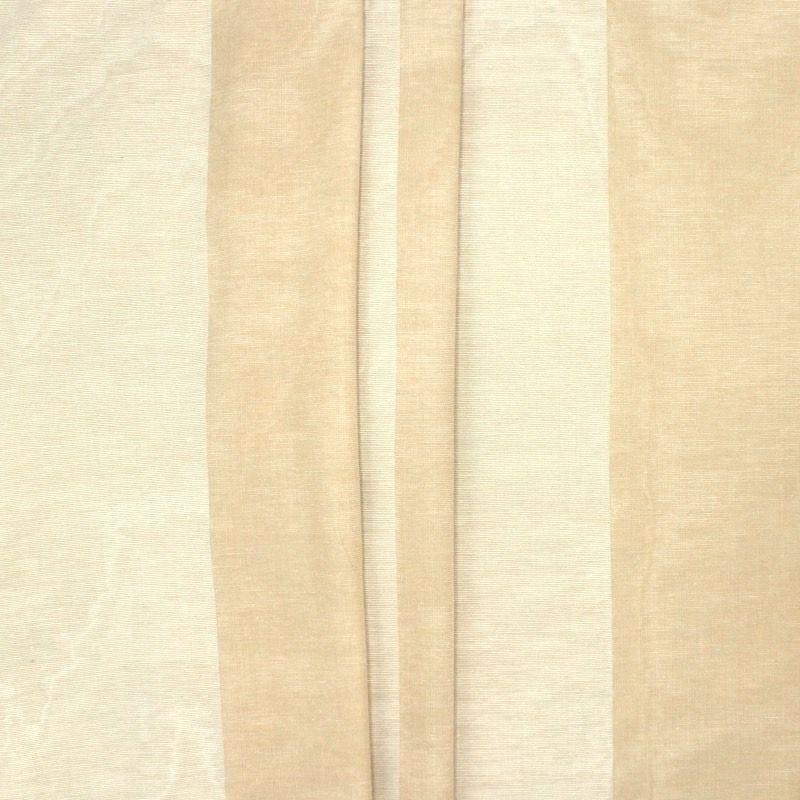 Tissu fin jacquard à rayures Bisque