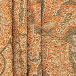 Tissu jacquard à motifs d'inspiration Cachemire