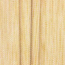 Jacquard upholstery fabric - straw-yellow