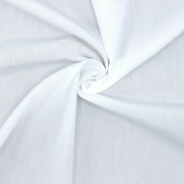 Flexible and fluid Poplin of cotton