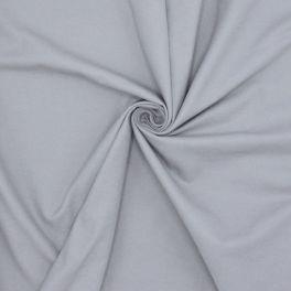 Tissu en coton gratté 2 faces gris souris