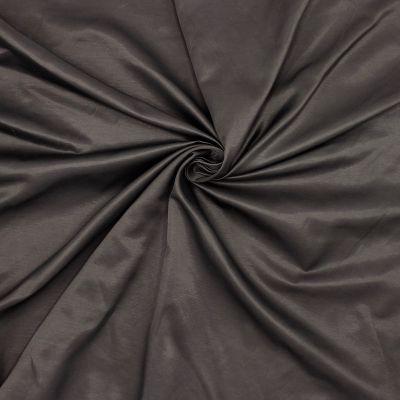 Gesatineerd kledingstof - bruin