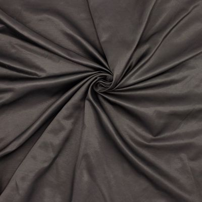 Satinised apparel fabric - brown