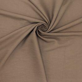 Viscose fabric - coffee-colored