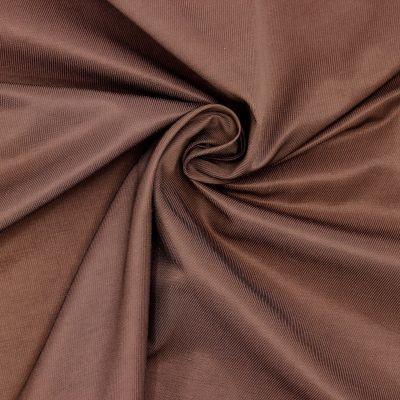 Apparel fabric - chocolate brown