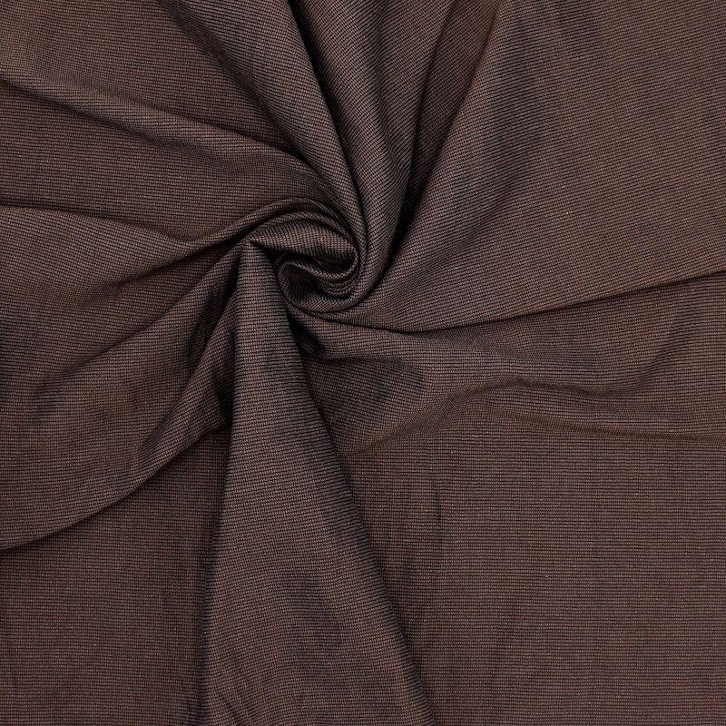 Apparel fabric - brown