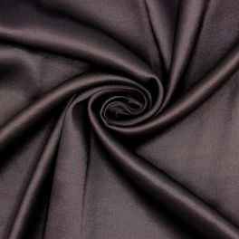 Satinised apparel fabric - brown