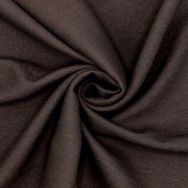 Tissu vestimentaire brun en viscose