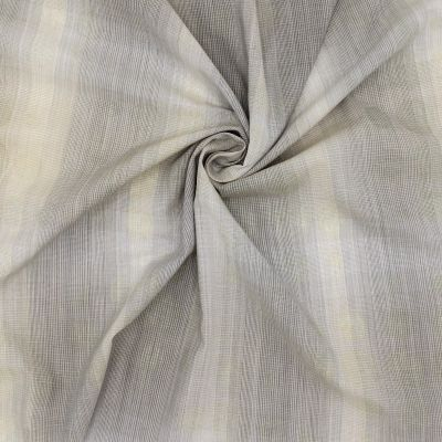 Striped apparel fabric - beige