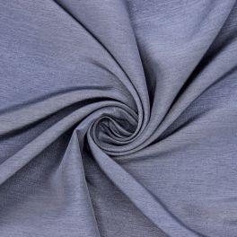 Tissu vestimentaire gris bleu avec fil fantaisie