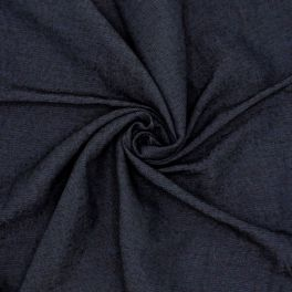 Kledingstof - donkerblauw