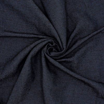 Tissu vestimentaire bleu nuit