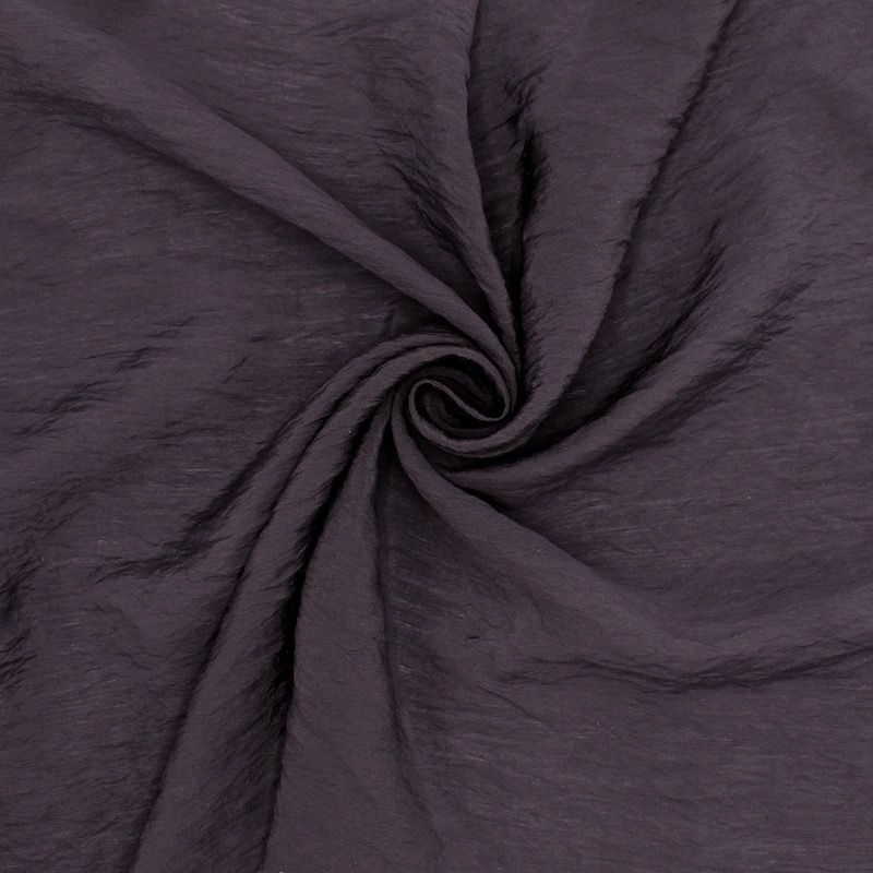 Apparel fabric - eggplant colored