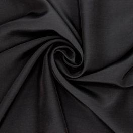 Tissu vestimentaire noir en viscose