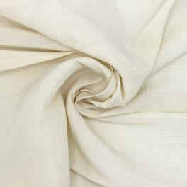 Tissu vestimentaire beige en viscose