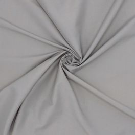 Apparel fabric in cotton and viscose - grey