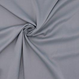 Tissu vestimentaire en coton et viscose gris