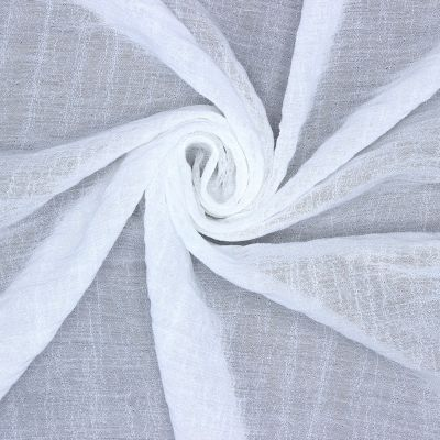 Apparel fabric - white
