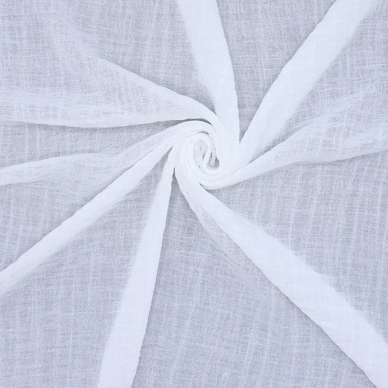 Apparel fabric - white