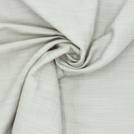 Apparel fabric in cotton and linen - beige