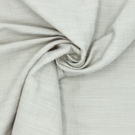 Tissu vestimentaire en coton et lin beige
