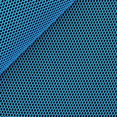 Upholstery fabric in polyester - turquoise
