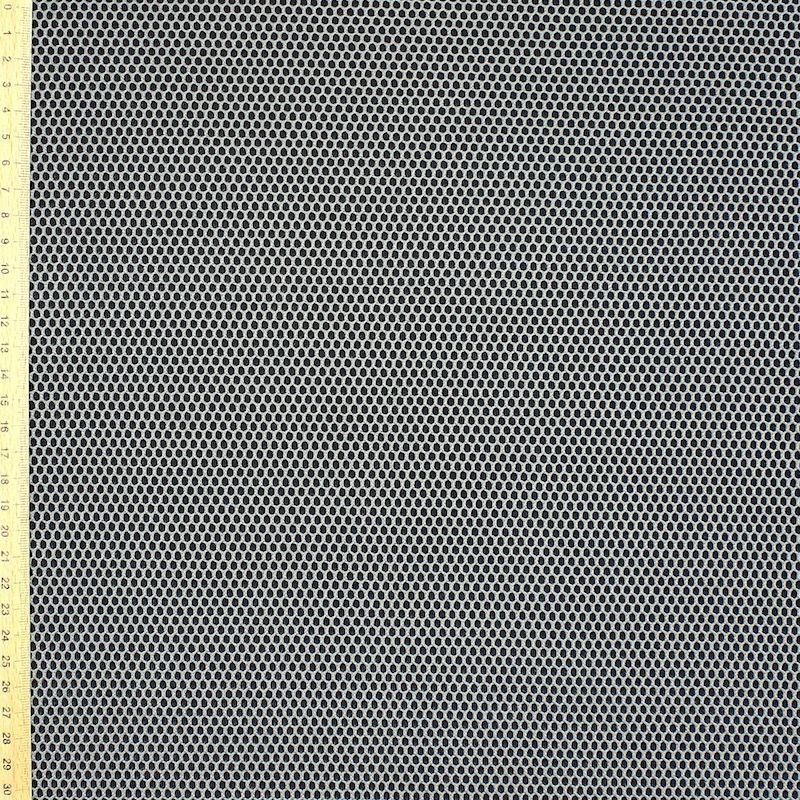 Upholstery fabric in polyester - grey