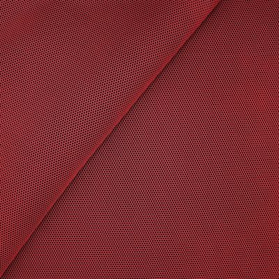 Upholstery fabric in polyester - red