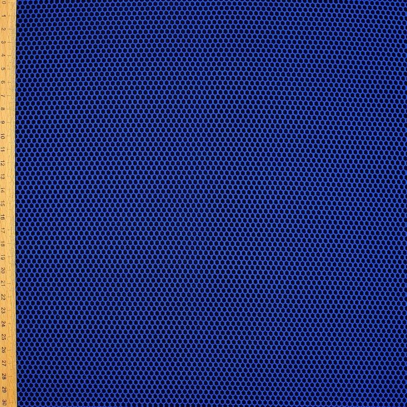 Upholstery fabric in polyester - blue