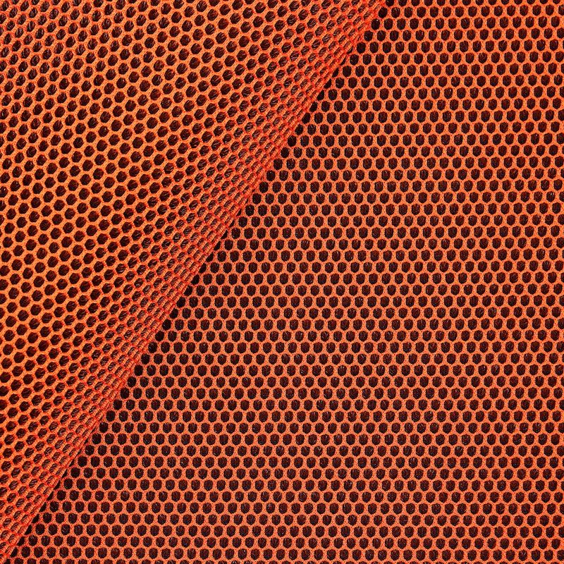 Upholstery fabric in polyester - rust