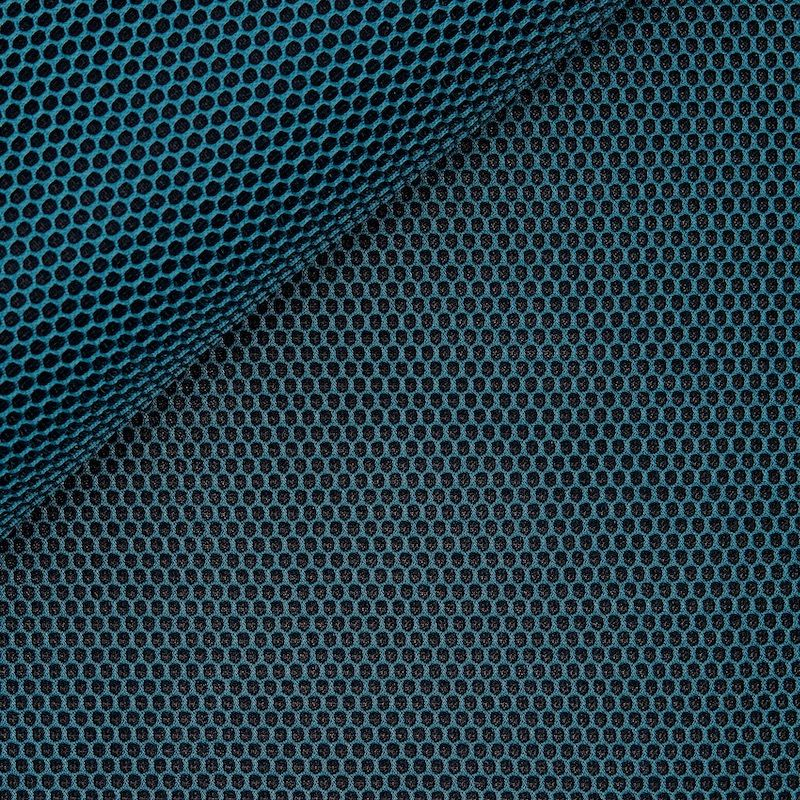Upholstery fabric in polyester - navy blue