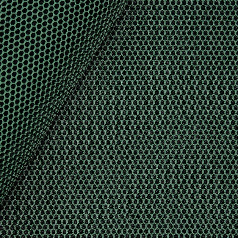 Tissu d'ameublement en polyester vert
