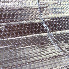 Isolerend thermisch reflector met noppen - zilver