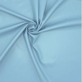 Extensible and waterproof faux leather - blue