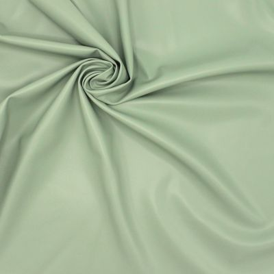 Extensible and waterproof faux leather - green