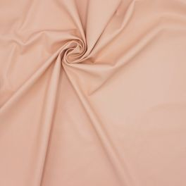 Extensible and waterproof faux leather - blush pink