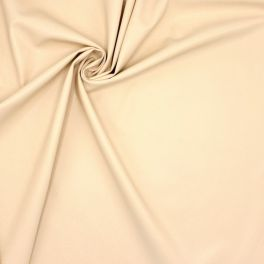 Extensible and waterproof faux leather - beige