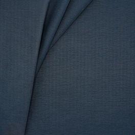 Waterafstotende stof met gevlamd effect - marineblauw