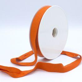 Rekbaar jersey biaisband - oranje