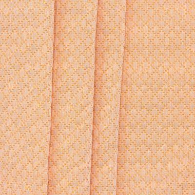 Jacquard fabric with rhombs - mustard yellow